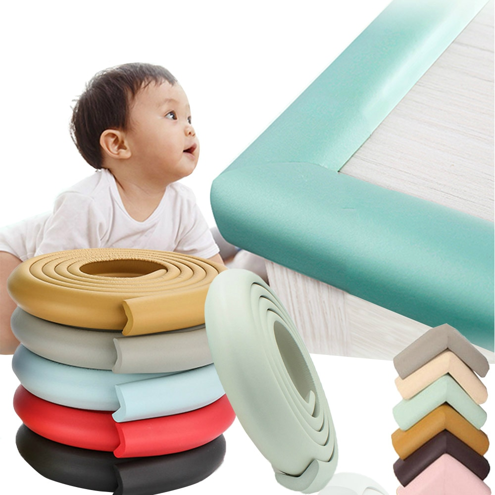 2M Baby Safety Corner Protector Table Desk Edge Guard Strip Children Safe Protection Tape Furniture Corners Angle Protection|Edge & Corner Guards| 1