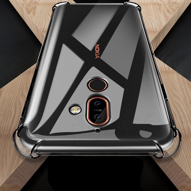 Case For Nokia 2 3 6 7 8 8.3 2.1 3.1 5.1 6.1 Plus 7.1 2.2 3.2 4.2 6.2 7.2 2.3 5.3 1.3 2.4 5.4 3.4 1.4 Shockproof Silicone Cover Phone Case & Covers  3