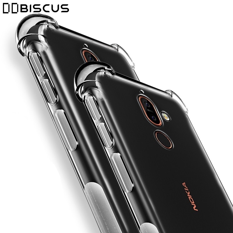 Case For Nokia 2 3 6 7 8 8.3 2.1 3.1 5.1 6.1 Plus 7.1 2.2 3.2 4.2 6.2 7.2 2.3 5.3 1.3 2.4 5.4 3.4 1.4 Shockproof Silicone Cover Phone Case & Covers  1