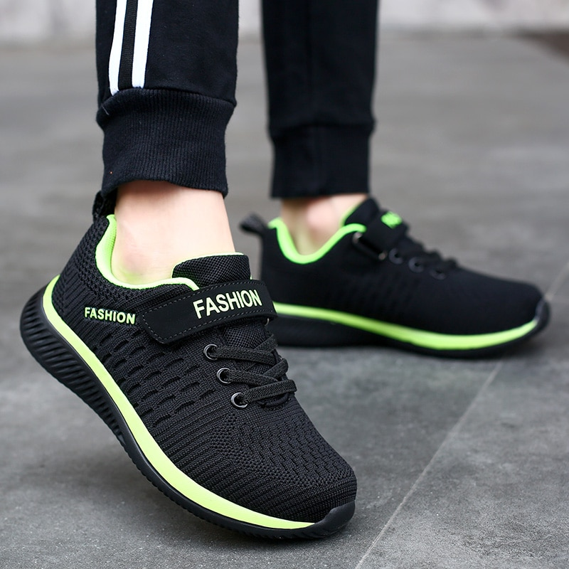 Fashion Kids Sneakers Summer Breathable Running Shoes Boy Outdoor Non slip Casual Sport Tennis Shoes for Girls Big Children Size|Running Shoes| 2