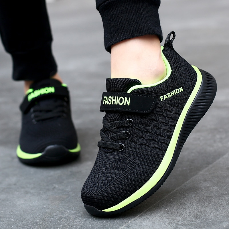 Fashion Kids Sneakers Summer Breathable Running Shoes Boy Outdoor Non slip Casual Sport Tennis Shoes for Girls Big Children Size|Running Shoes| 3