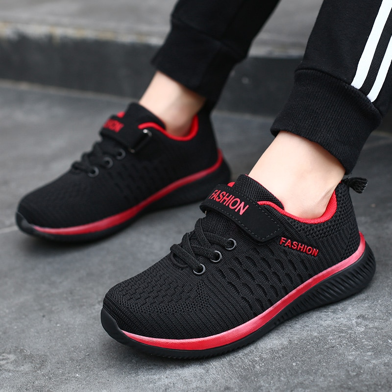 Fashion Kids Sneakers Summer Breathable Running Shoes Boy Outdoor Non slip Casual Sport Tennis Shoes for Girls Big Children Size|Running Shoes| 4