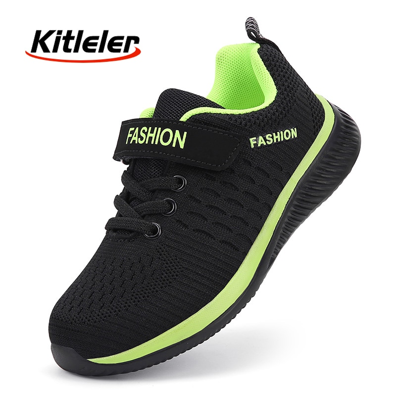Fashion Kids Sneakers Summer Breathable Running Shoes Boy Outdoor Non slip Casual Sport Tennis Shoes for Girls Big Children Size|Running Shoes| 1