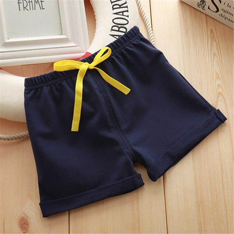 Infant Toddler Girls Boys Shorts Summer Cotton Kids Beach Shorts Baby Pants Solid Color Casual Sytle|Shorts| 2