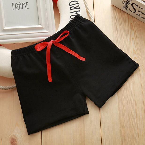 Infant Toddler Girls Boys Shorts Summer Cotton Kids Beach Shorts Baby Pants Solid Color Casual Sytle|Shorts| – 3 9