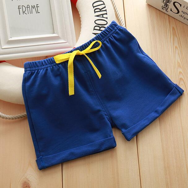 Infant Toddler Girls Boys Shorts Summer Cotton Kids Beach Shorts Baby Pants Solid Color Casual Sytle|Shorts| – 4 10