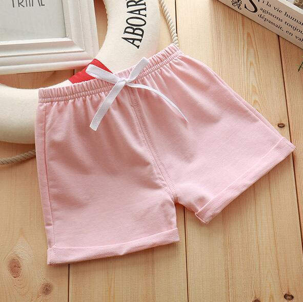 Infant Toddler Girls Boys Shorts Summer Cotton Kids Beach Shorts Baby Pants Solid Color Casual Sytle|Shorts| – 5 11