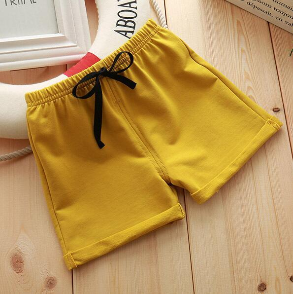 Infant Toddler Girls Boys Shorts Summer Cotton Kids Beach Shorts Baby Pants Solid Color Casual Sytle|Shorts| – 7 13