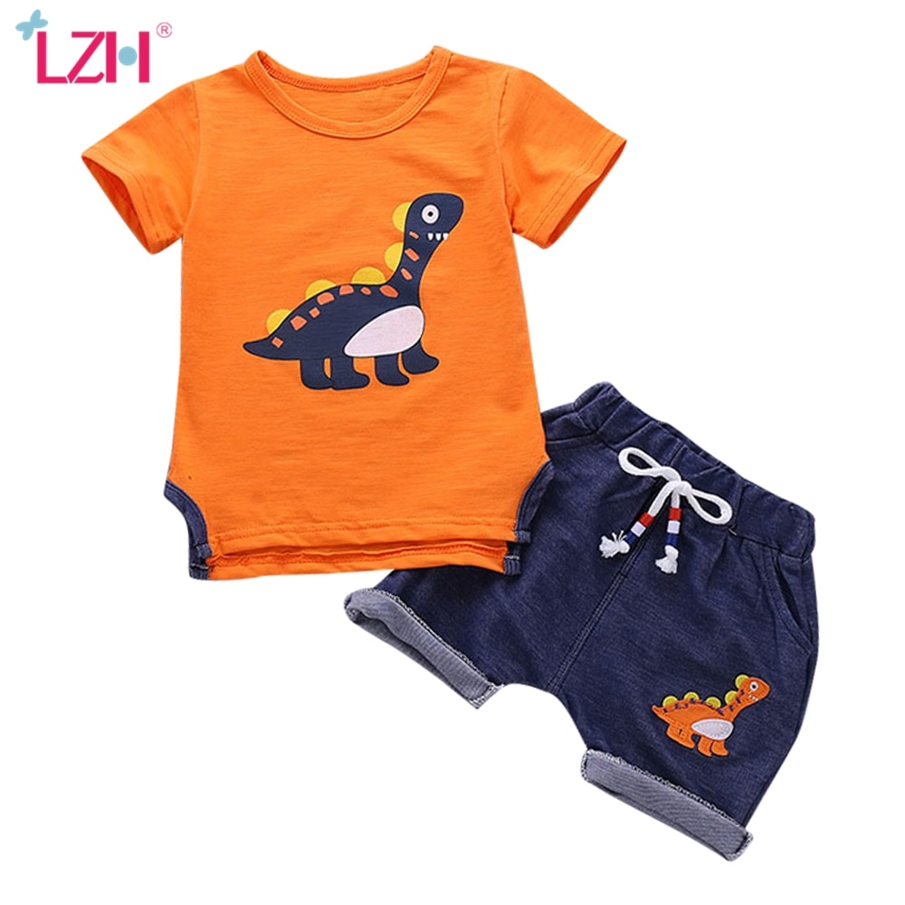 Kids Clothes For Boys Clothing Sets 2021 Summer Toddler Boys Clothes Set Outfits Boys Sport Suit Children Clothing 1 2 3 4 Year Clothing Sets  1