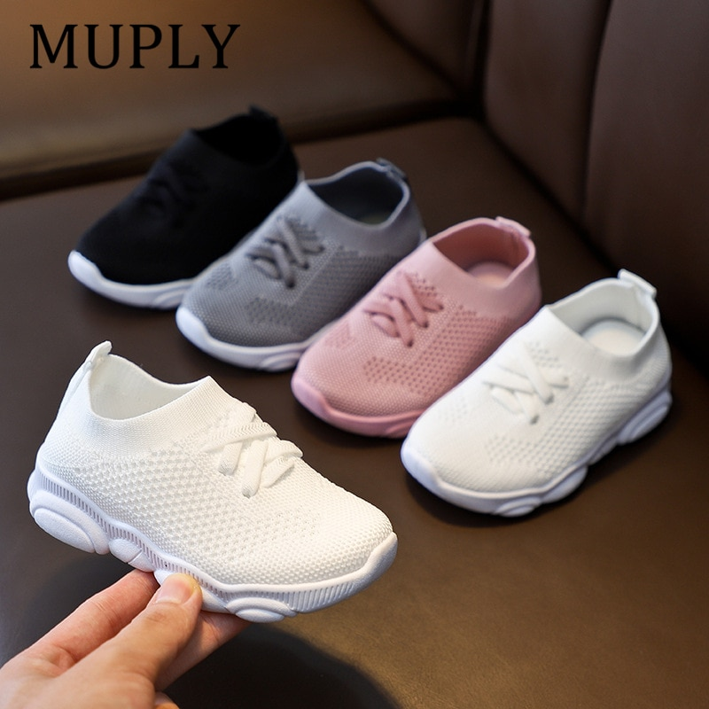 Kids Shoes Anti slip Soft Rubber Bottom Baby Sneaker Casual Flat Sneakers Shoes Children size Kid Girls Boys Sports Shoes|Sneakers| 6
