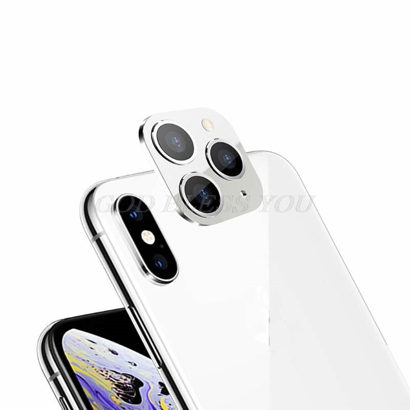 New Camera Lens Cover for iPhone X XS / XS MAX Seconds Change for iPhone 11 Pro Lens Sticker Modified Camera Cover Drop Shipping|Mobile Phone Lens| 4