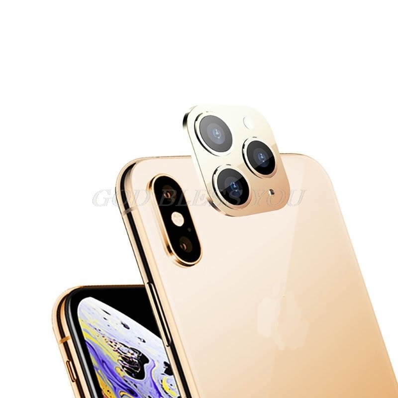 New Camera Lens Cover for iPhone X XS / XS MAX Seconds Change for iPhone 11 Pro Lens Sticker Modified Camera Cover Drop Shipping|Mobile Phone Lens| 5
