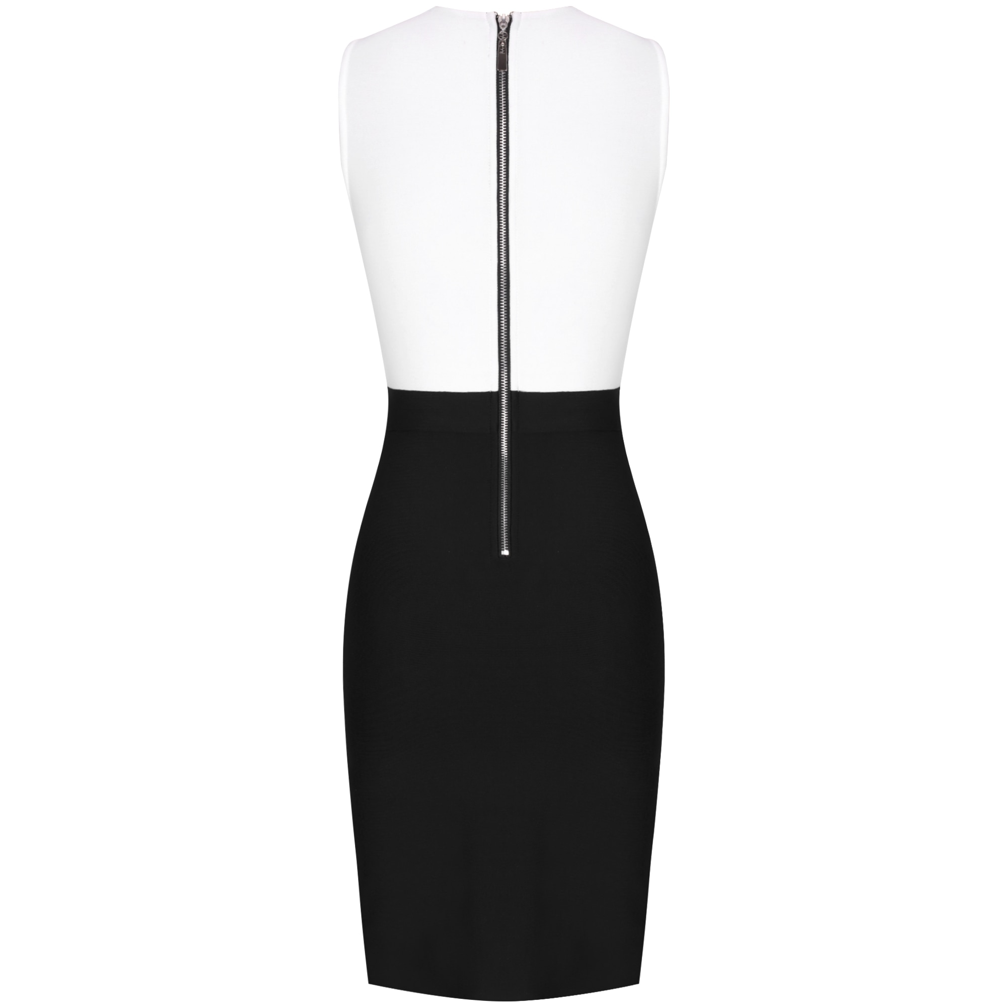 Ocstrade Bandage Dress 2021 Black White Bandage Dress Bodycon Summer Mesh Insert Sexy Party Dress Club Outfits for Women Dresses  6