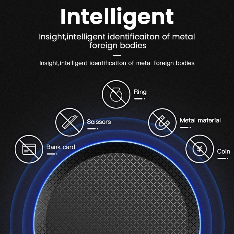 iONCT 10W Fast Qi Wireless Charger for iPhone 11 pro 8 X XR XS wirless Charging for Samsung phone USB wireless charger pad IN040 Wireless Chargers  3