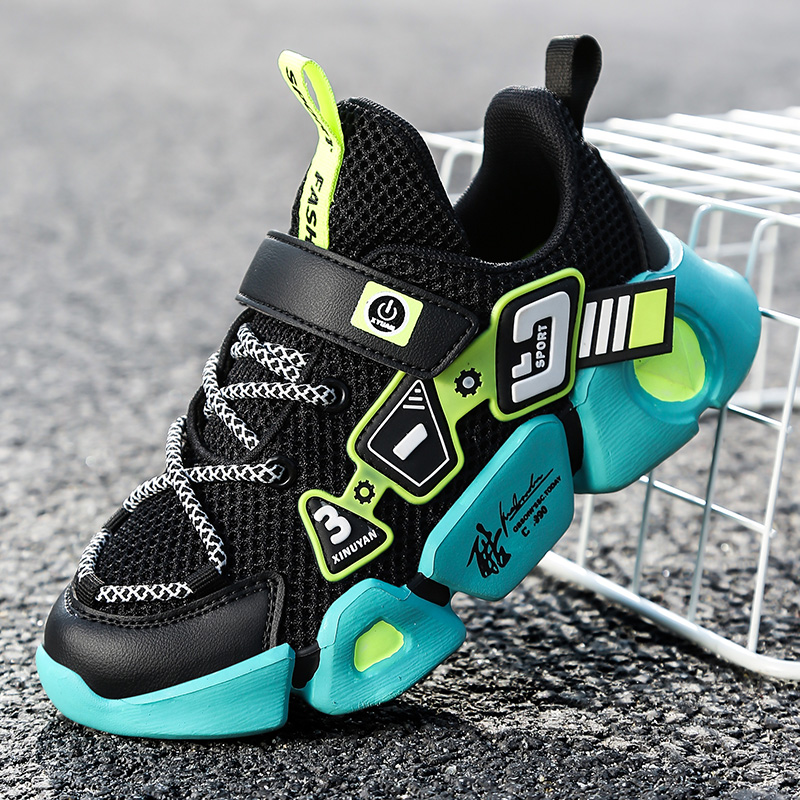 High Quality Children's Shoes Breathable Sneakers For Boys Lightweight Kids Shoes Soft Bottom Running Shoe Tenis Infantil|Sneakers| 1