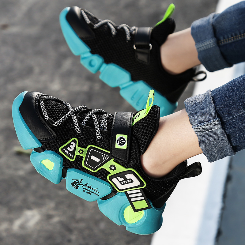 High Quality Children's Shoes Breathable Sneakers For Boys Lightweight Kids Shoes Soft Bottom Running Shoe Tenis Infantil|Sneakers| 5