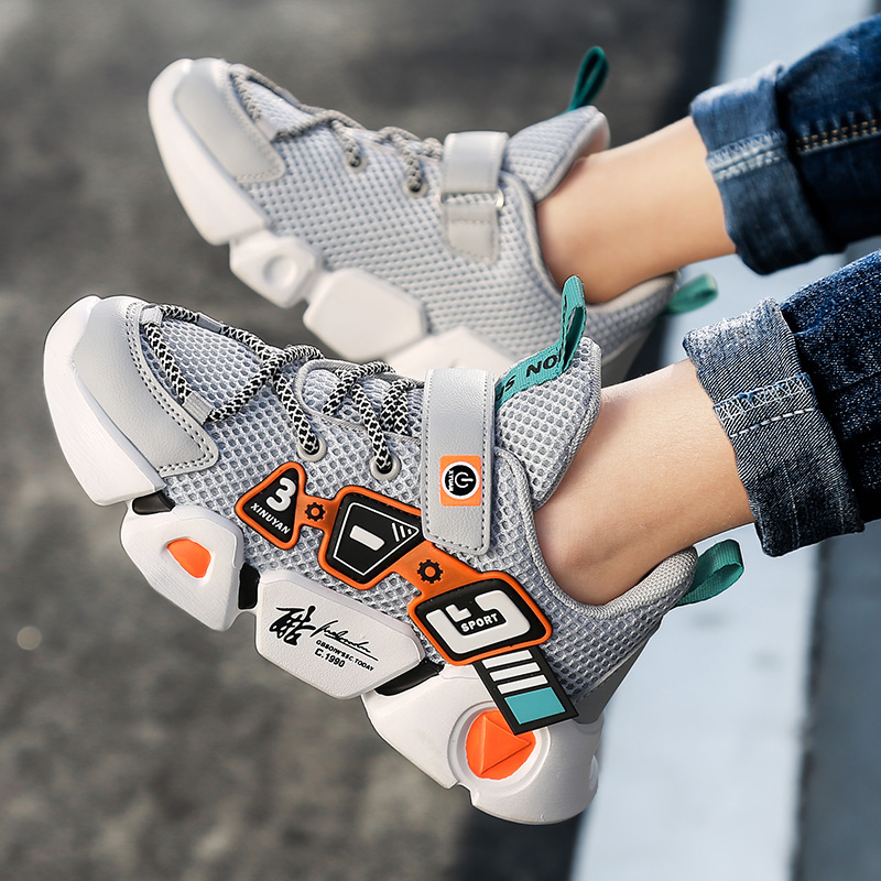 High Quality Children's Shoes Breathable Sneakers For Boys Lightweight Kids Shoes Soft Bottom Running Shoe Tenis Infantil|Sneakers| 6