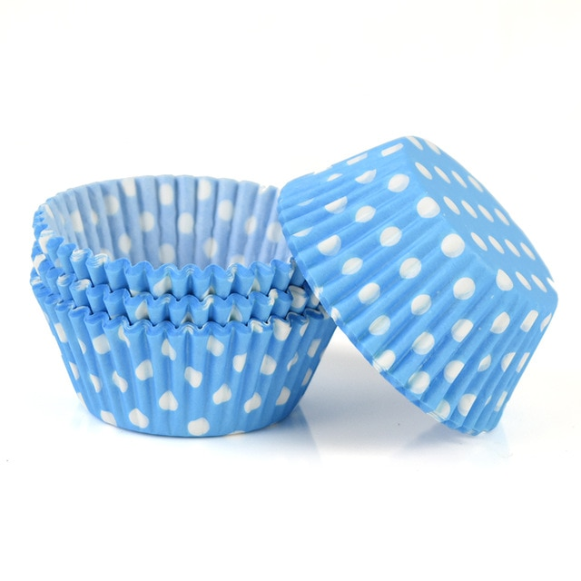 100pcs/lot Printed Cupcake Paper Cups Cupcake Liner Baking Muffin Cup Case Home Kitchen Cooking Supplies Cake Decorating Tools|Cake Molds| – C13 19