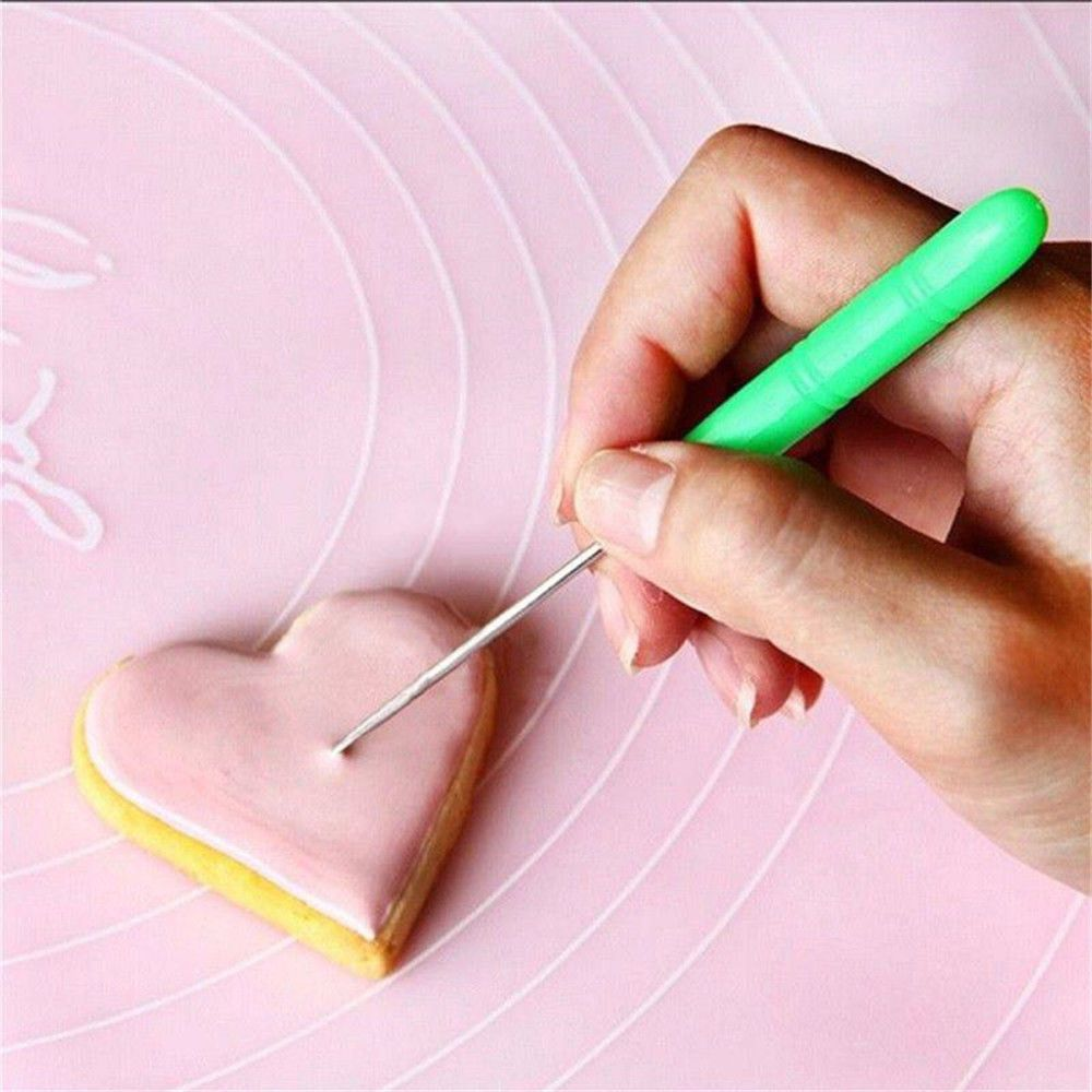 1pc Durable Biscuit Needle Cake Tester Baking Tools Stainless Steel Biscuit Icing Sugar Needle Baking & Pastry Tools Dropship|Cookie Tools| 2