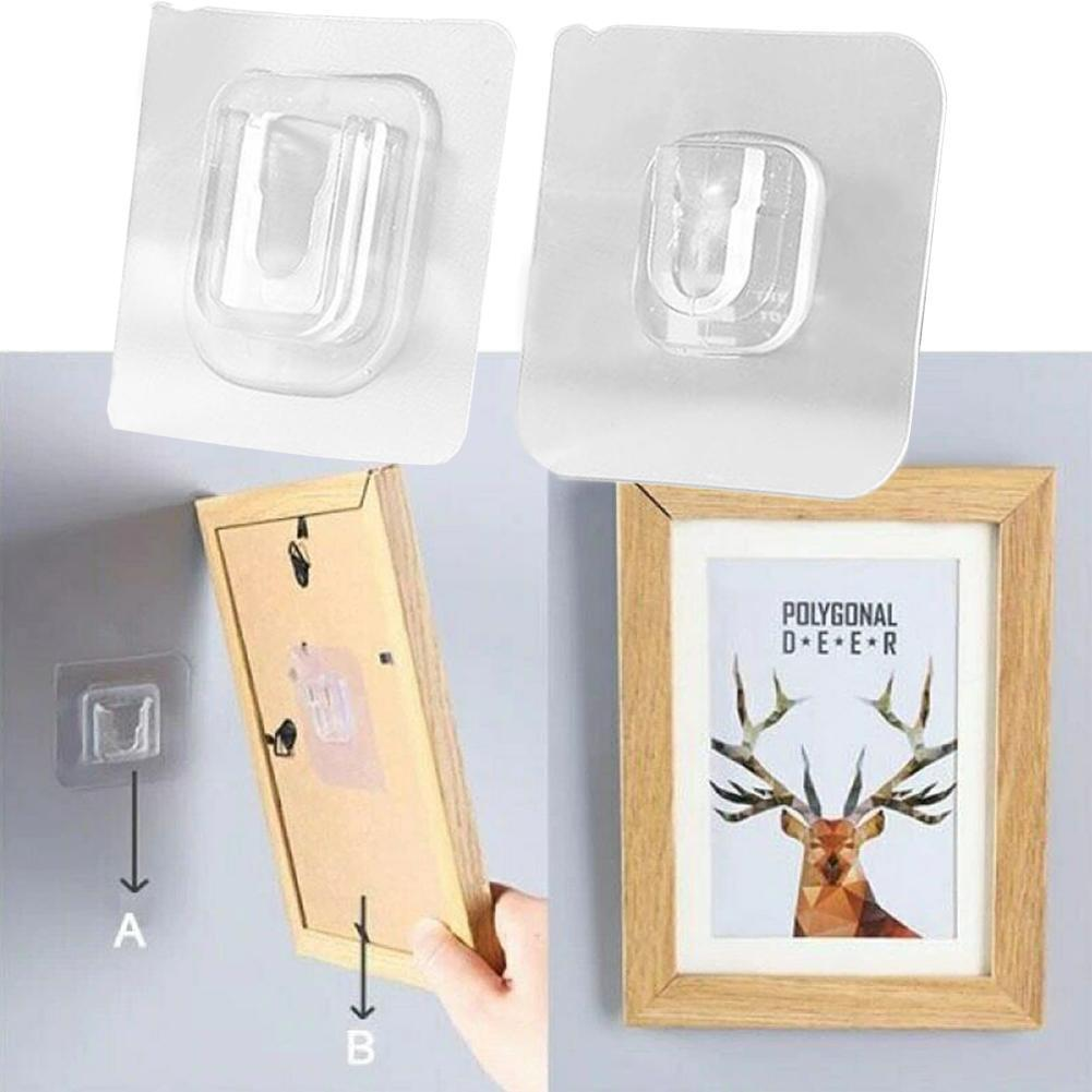 20/12pairs Double sided Adhesive Wall Painting Hooks Patch panel Cable Organizer Wire Winder Holder Mouse Cord Clip Protector|Cable Organizers| 1