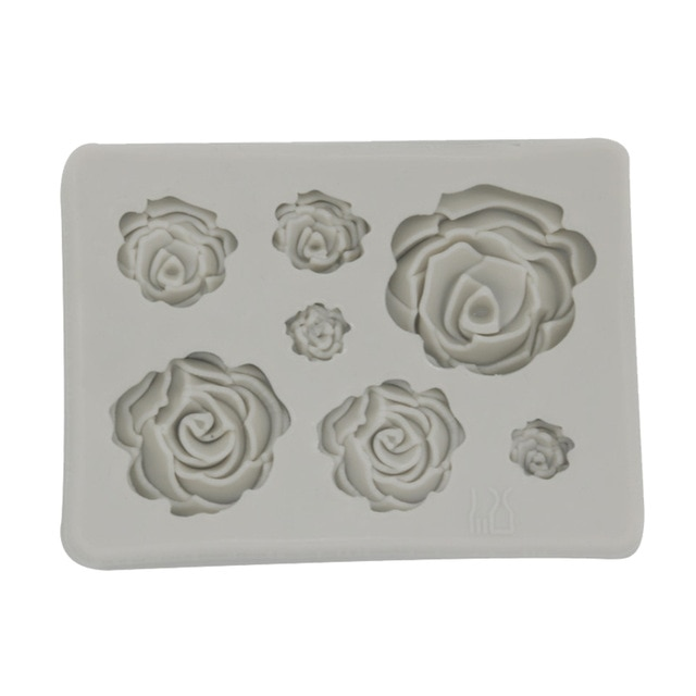 3D Seashell Ice Mold Starfish Ice Trays Conch Shaped Ice Moulds Fondant Mold for Kitchen Baking Pastry Candy Making Tool Cake Molds  – 7 13