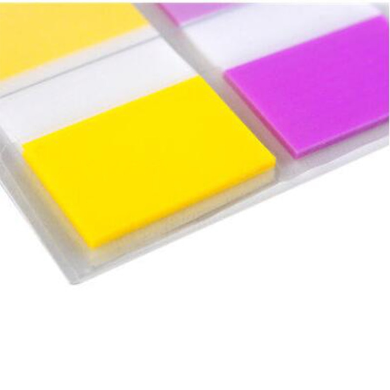 3M Post it Big size 25mm*44mm Indication Label 2 Colors Index Sticky Notes Classification Paste Memo Pad Big Brand Trustworthy Memo Pads  5