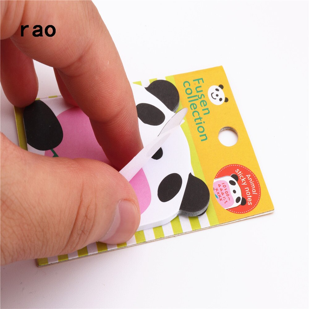 Charming 070 Animal Series Memo Pad Sticky Notes Bookmark Point It Sticker Paper office School Supplies Writing Pads Notebooks|Memo Pads| 2