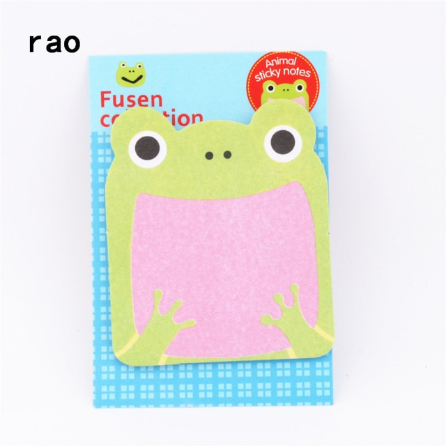 Charming 070 Animal Series Memo Pad Sticky Notes Bookmark Point It Sticker Paper office School Supplies Writing Pads Notebooks|Memo Pads| – You-072 8