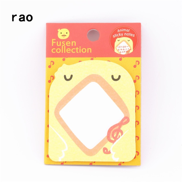 Charming 070 Animal Series Memo Pad Sticky Notes Bookmark Point It Sticker Paper office School Supplies Writing Pads Notebooks|Memo Pads| – You-073 9