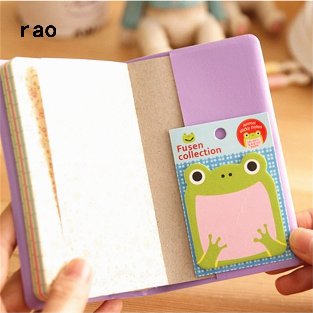 Charming 070 Animal Series Memo Pad Sticky Notes Bookmark Point It Sticker Paper office School Supplies Writing Pads Notebooks|Memo Pads| 5