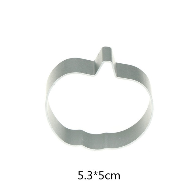 Hot 1PC Kitchen Cookie Cutter Cat Shaped Aluminium Mold Sugarcraft Cake Cookies Pastry Baking Cutter Mould Cake Decorating Tools Cookie Tools  – Halloween Pumpkin 17