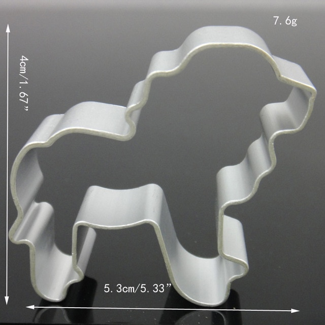 Hot 1PC Kitchen Cookie Cutter Cat Shaped Aluminium Mold Sugarcraft Cake Cookies Pastry Baking Cutter Mould Cake Decorating Tools Cookie Tools  – Lion 20