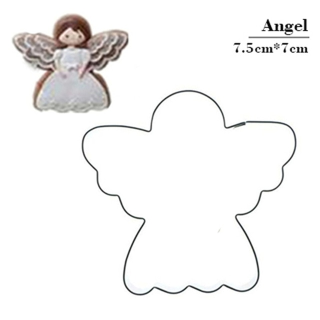 Hot 1PC Kitchen Cookie Cutter Cat Shaped Aluminium Mold Sugarcraft Cake Cookies Pastry Baking Cutter Mould Cake Decorating Tools Cookie Tools  – Angel 21