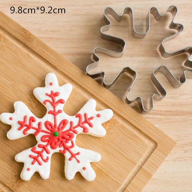 Hot 1PC Kitchen Cookie Cutter Cat Shaped Aluminium Mold Sugarcraft Cake Cookies Pastry Baking Cutter Mould Cake Decorating Tools Cookie Tools  – Snow 9