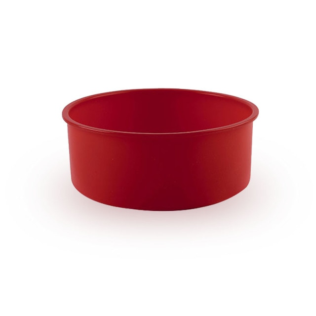 Round Silicone Cake Mold 4 6 8 10 Inch Silicone Mould Baking Forms Silicone Baking Pan For Pastry Cake Cake Molds  – deep red 12