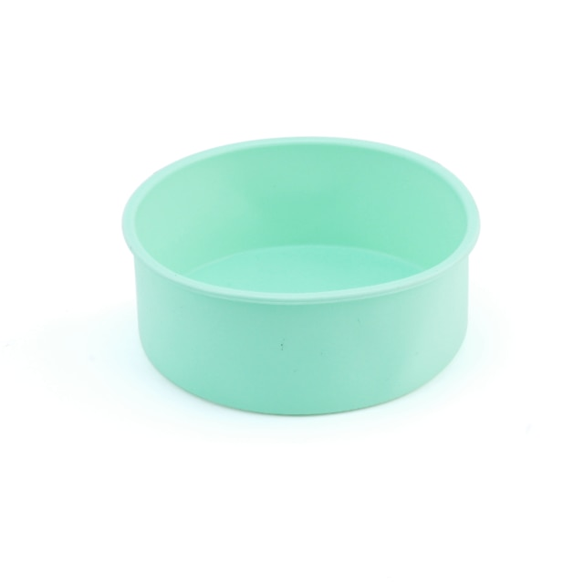 Round Silicone Cake Mold 4 6 8 10 Inch Silicone Mould Baking Forms Silicone Baking Pan For Pastry Cake Cake Molds  – Green 7